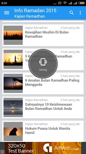 Info Ramadhan 2015