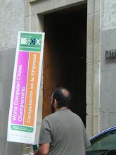 Photo: Entrance of the venue