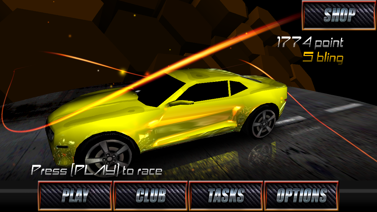 Android Racing Game With Customizable Cars