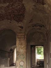 Photo: Grangia cysterska w Winnicy - wnętrze budynku.