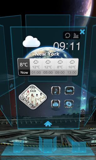 Next Music Widget screenshot 6