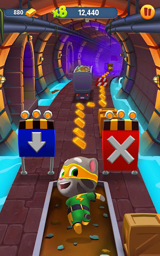 Talking Tom Gold Run  gameplay | by HackJr.Pw 15