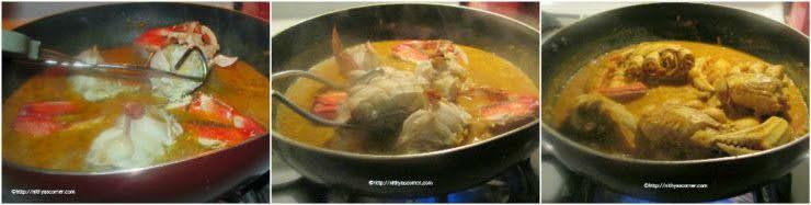 Crab Coconut Masala