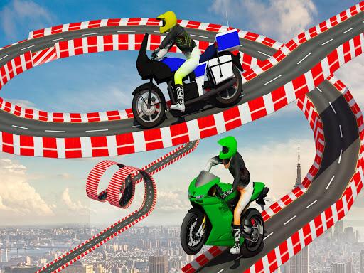 Stunt Bike Impossible Tracks-Race Moto Drive Game image | 7
