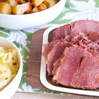 Slow-Cooker Corned Beef and Cabbage.