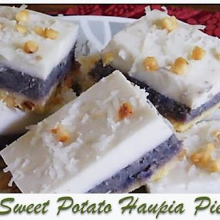 Sweet Potato Haupia Pie