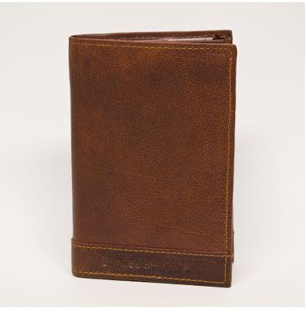 Spikes & Sparrow plånbok brandy