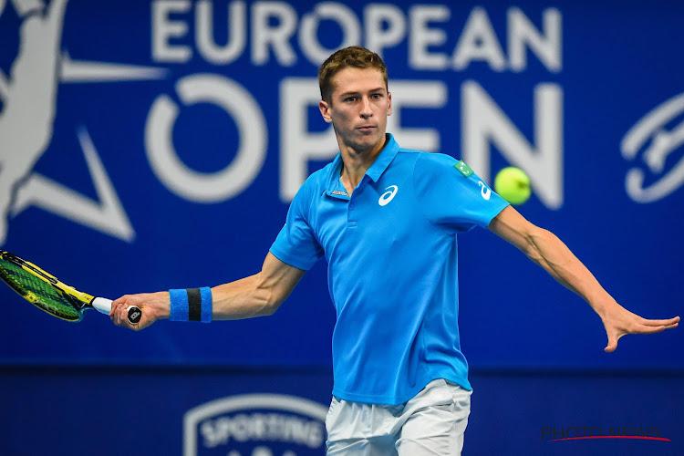 Kimmer Coppejans kan glansprestatie tegen Murray uit vorige editie niet herhalen en verliest op European Open