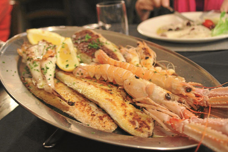 Alle Testiere. Small restaurant renowned for its seafood. Picture: MADELEINE MORROW