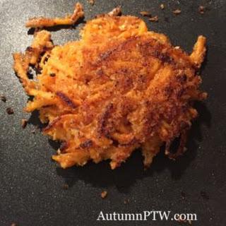 Scrumptious Sweet Potato Pancakes.