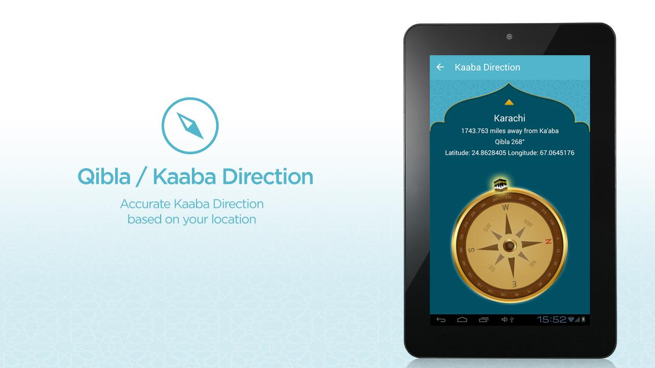 FaceKaaba: Iqama Prayer Times- screenshot
