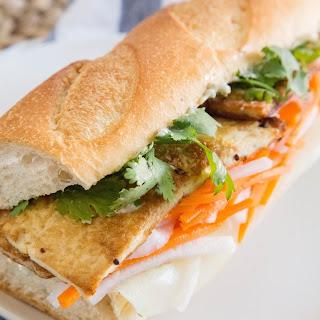 Bánh Mì with Lemongrass Tofu