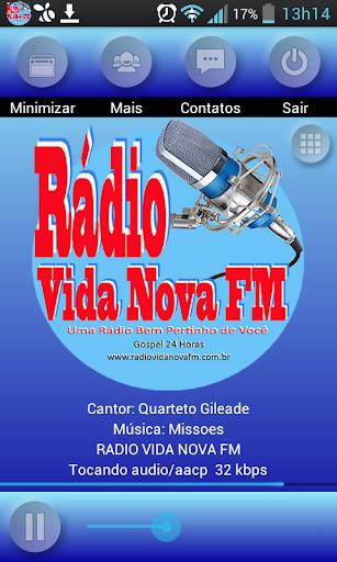 Radio Vida Nova Fm Gospel 24h