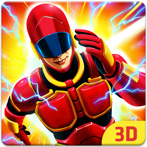 Grand Light Speed Robot : Superhero Fight