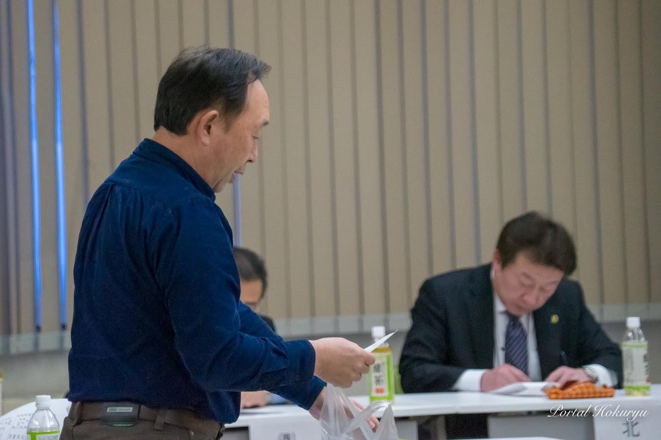 役員選考委員長・小坂一行さん