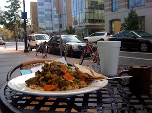 Photo: Lunch at Olive Cafe in Cambridge