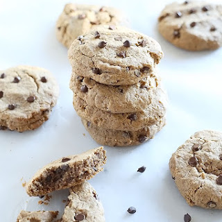 1 Bowl Chocolate Chip Almond Butter Cookies Recipe