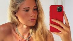 Ana Soria hace de modelo en Instagram.