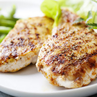Easy Grilled Herb Chicken.