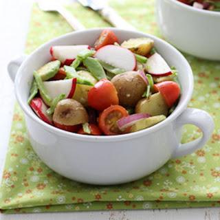 Potato Salad with Avocado