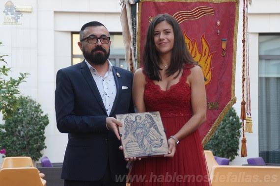 Proclamación de Claudia Rodríguez Blanco. Falla de les Arts.