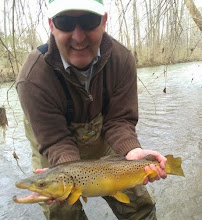 Photo: Oh...and here he is the VERY NEXT CAST! We can't make this s**t up friends.....really. God bless the Brown Trout in Ohio!!!