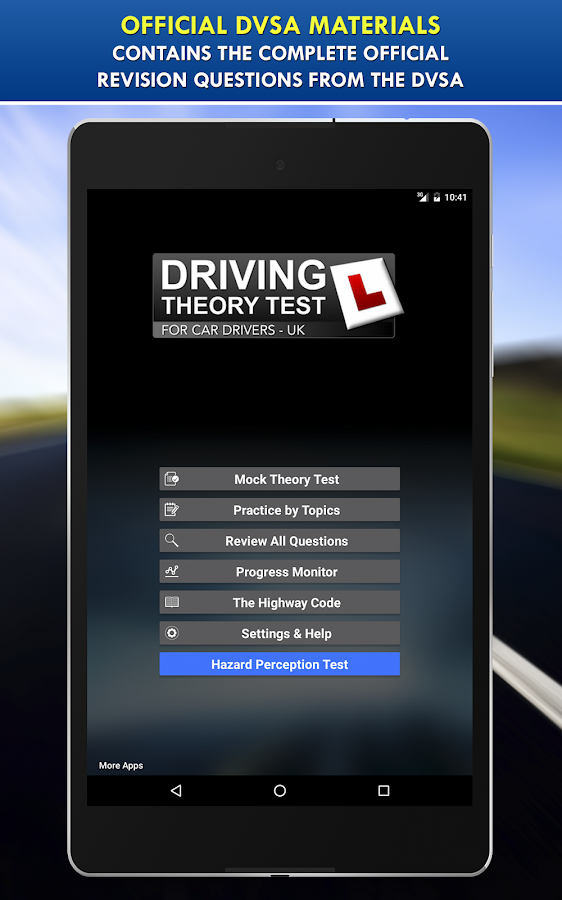 Driving Theory Test UK for Car Drivers Free- screenshot