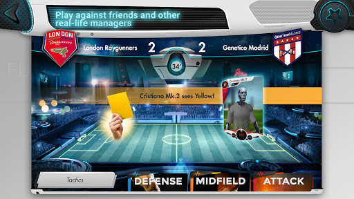 Futuball - Future Soccer Manager Game - screenshot