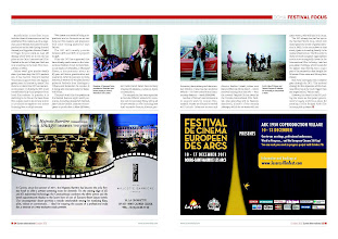 Photo: Screen International October 2011 issue. Pages 24-25 article on Quitna Communications and Doha Film Institute
