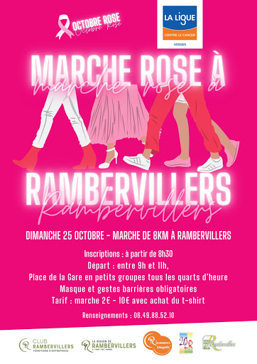 Marche Rose Rambervillers