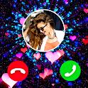 Color Call Screen - Phone Caller Screen Themes icon