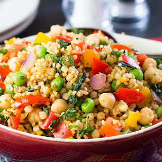 Moroccan Spiced Vegetable Couscous Recipe