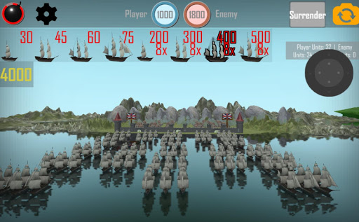 MEDIEVAL NAVAL WARS: FREE REAL TIME STRATEGY GAME 1.1 screenshots 10