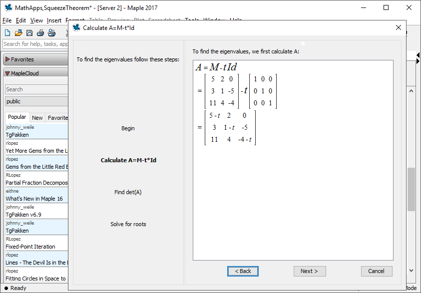 Phần mềm toán học Maplesoft Maple