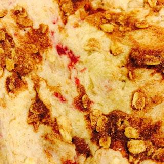 Banana Raspberry Oat Cake…Made from GF Sugar Cookie Mix