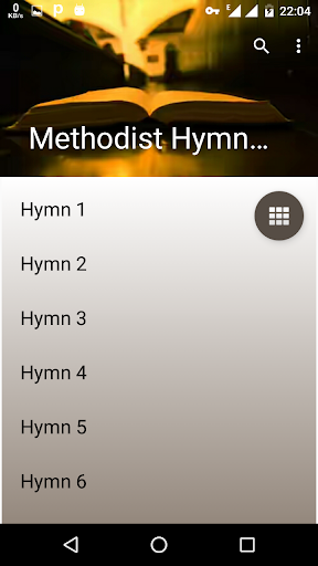 Methodist Hymn Book offline. screenshot