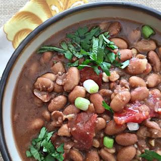 Southwestern Pinto Bean Soup.