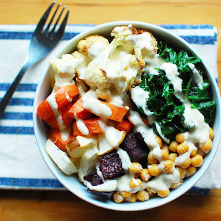 Roasted Root Vegetable Buddha Bowl