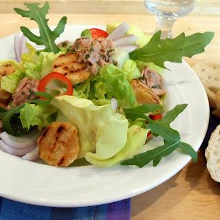 Semmelknödel Salat nach toskanischer Art