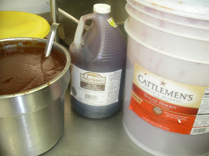 Photo: OK--my BBQ Chicken-Wing sauce secret is out........ Six parts Cattleman`s Texas Smokey BBQ sause to 1 part Molasses.  Come in and try a free sample.
