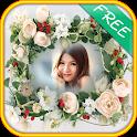 Beautiful Flower photo frames icon