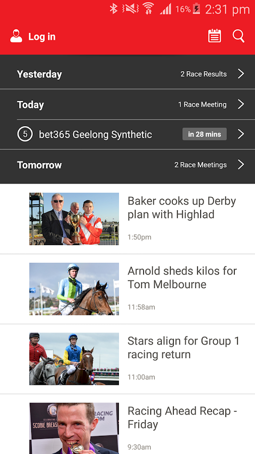 Racing.com - Horse Racing Live- screenshot