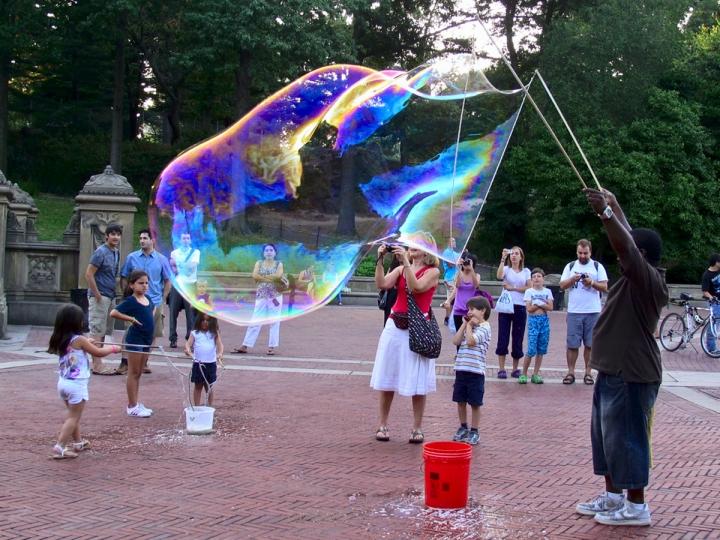 The big bubble di Charmer