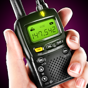 Police walkie talkie radio virtual simulator