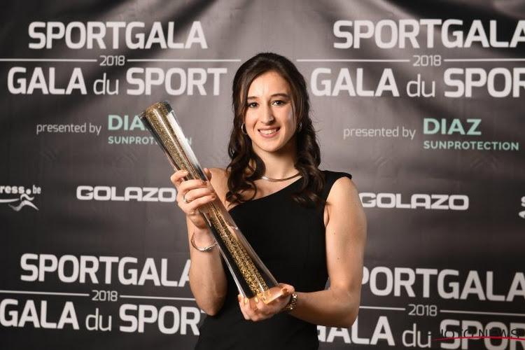 """Nina Derwael opnieuw Sportvrouw van het Jaar: """"Ik had eigenlijk verwacht dat Emma Meesseman zou winnen"""""""