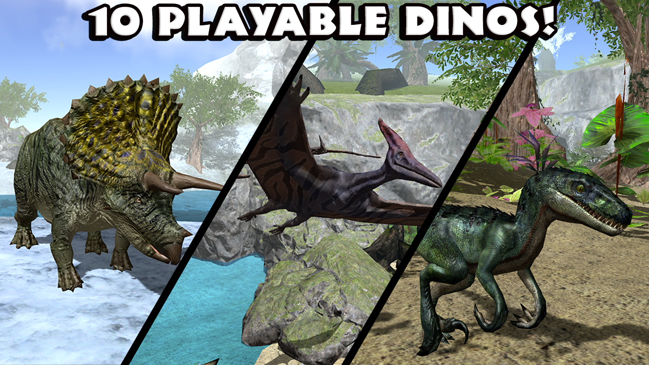Ultimate Dinosaur Simulator- screenshot