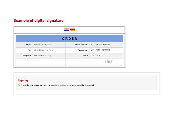 Comtrade DigSig plugin - Chrome Web Store