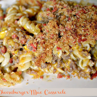 Bacon Cheeseburger Mac Casserole.