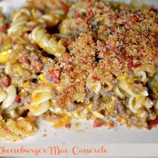Bacon Cheeseburger Mac Casserole.