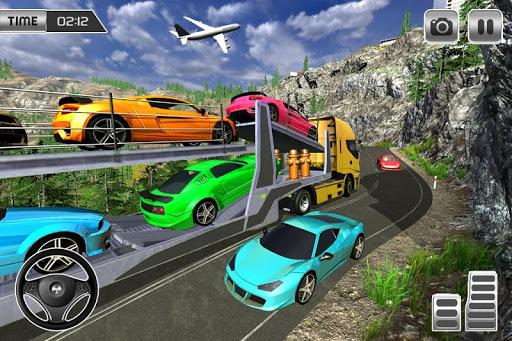 Heavy Car Carrier Truck Driving Simulator 2019 screenshots 6